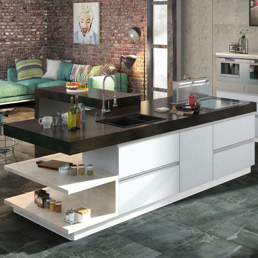 Кухня Голди со спецэффектом